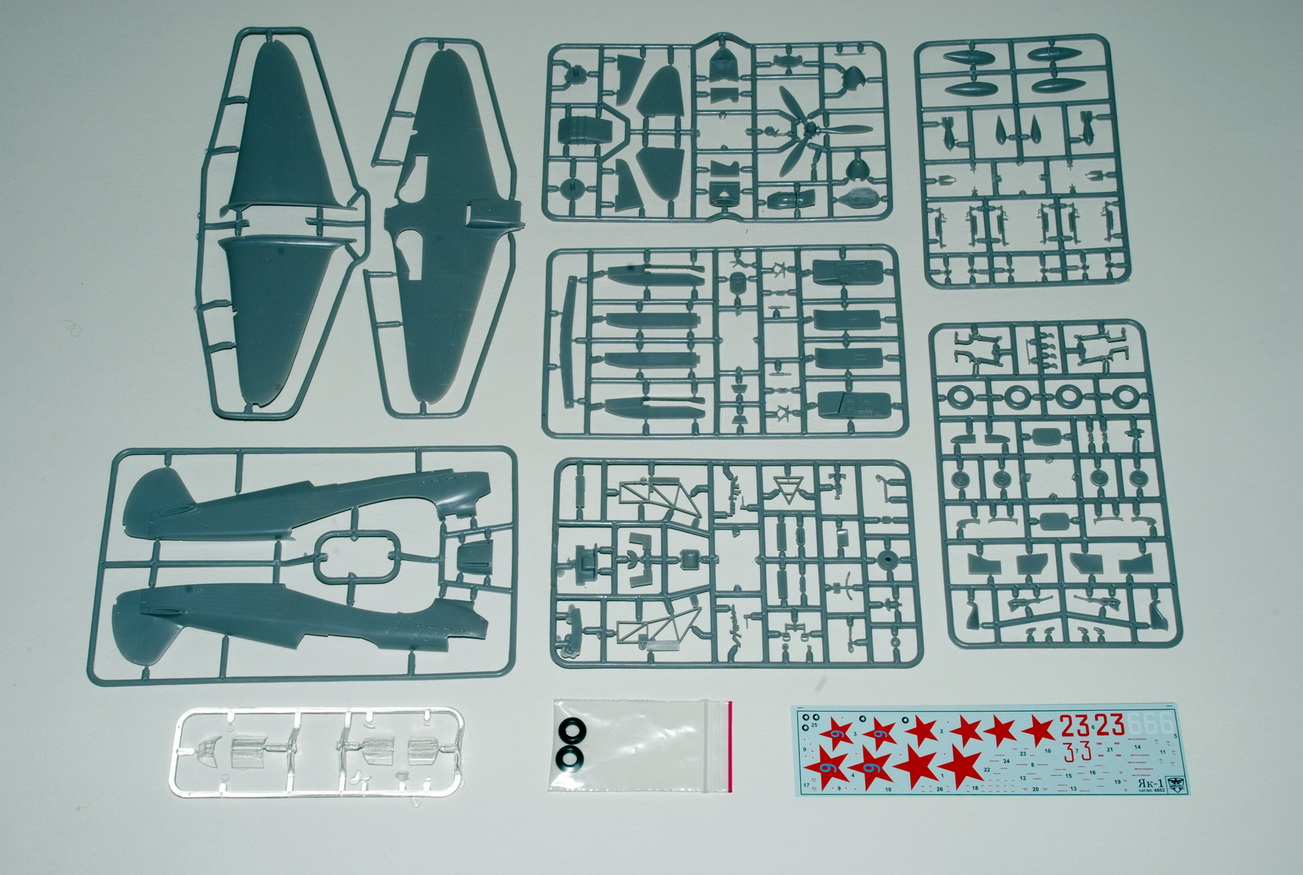 MODELSVIT Yakovlev Yak-1,1/48 scale (Cat. number 48002)