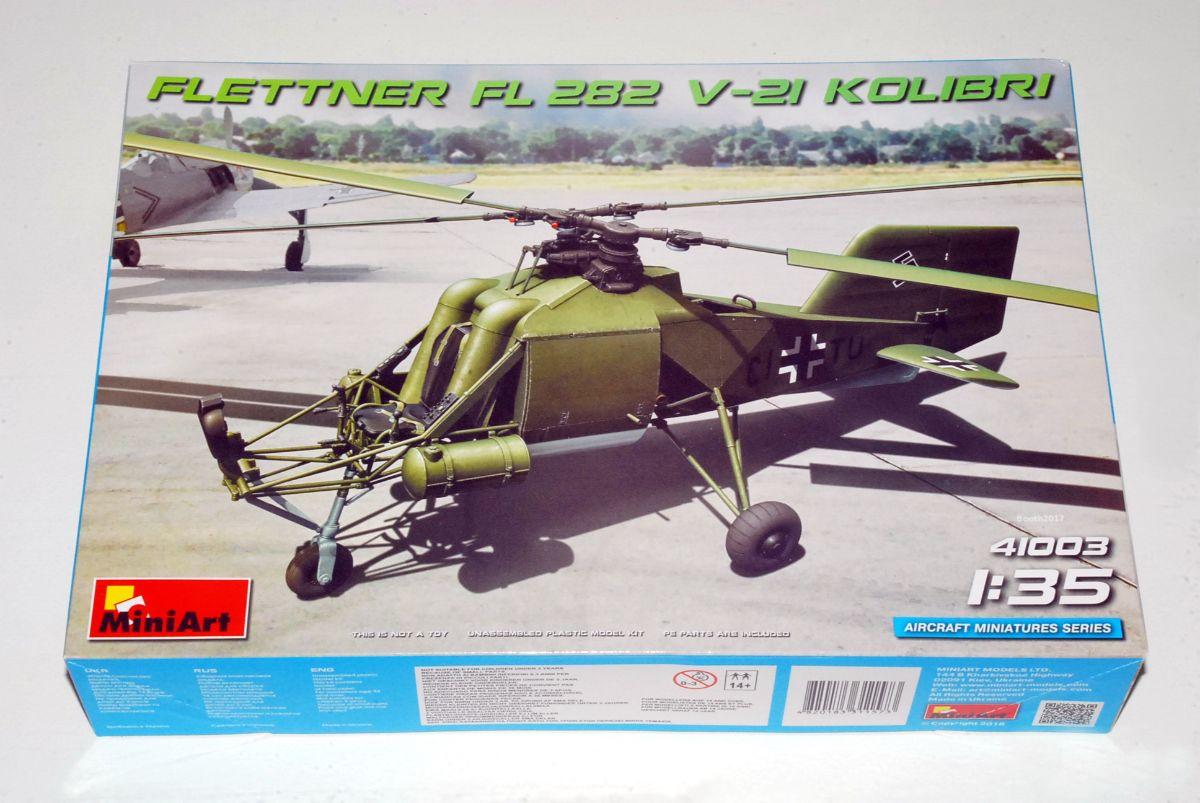 Flettner Fl 282 V-21 Kolibri, MiniArt No.41003, 1/35