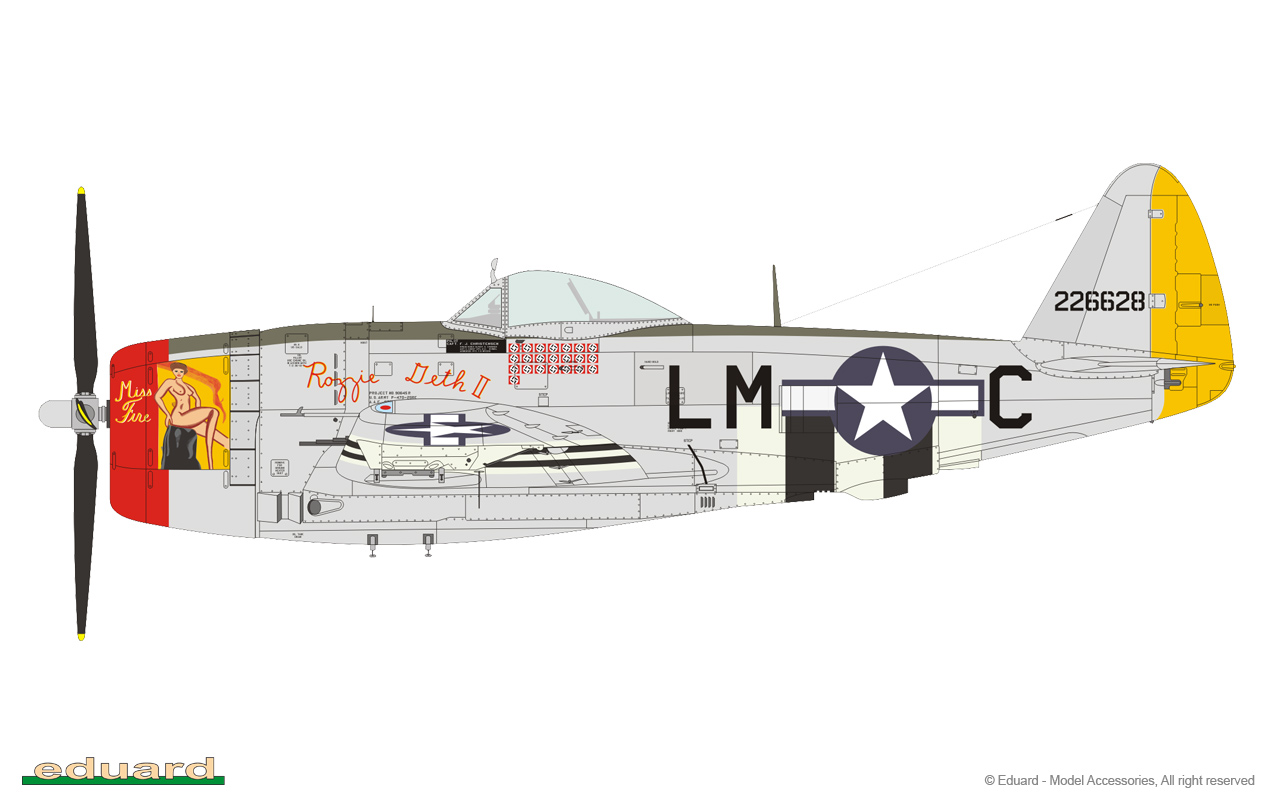 EDUARD P-47D, Jugs Over Germany, 1/48