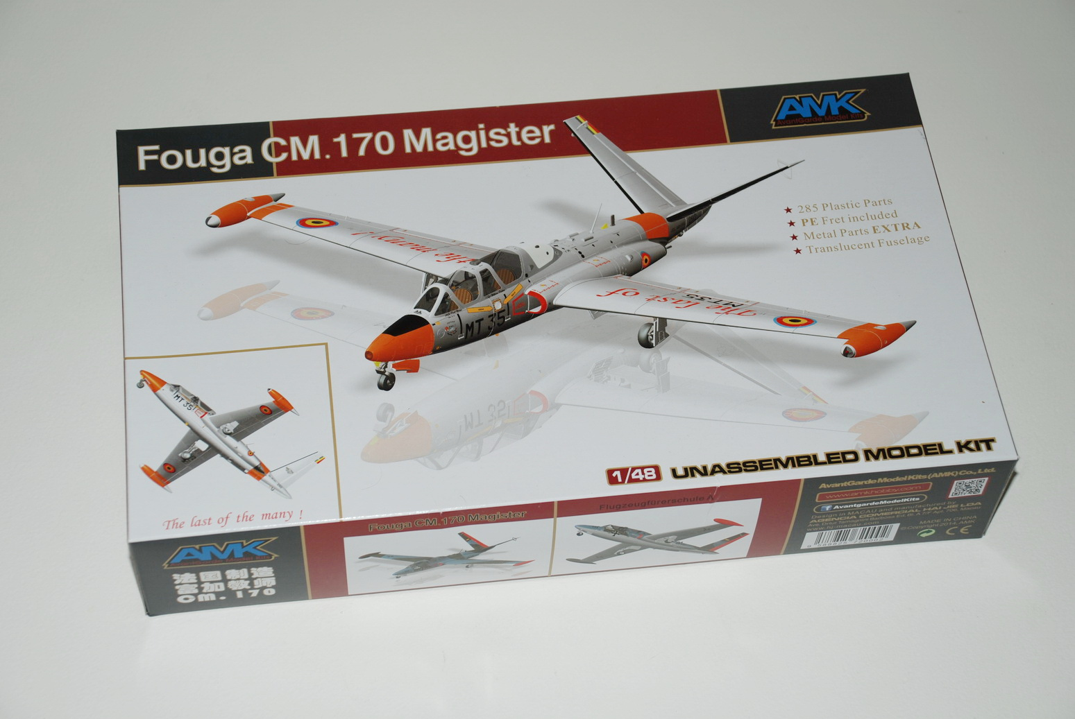 Fouga CM. 170 Magister AMK review
