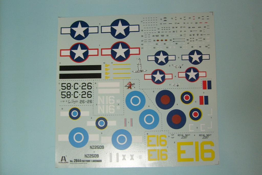 Grumman TBF/TBM-1C Avenger 1/48 (Kωδικός 2644)