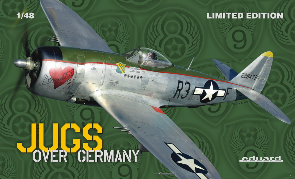 EDUARD P-47D, Jugs Over Germany, 1/48