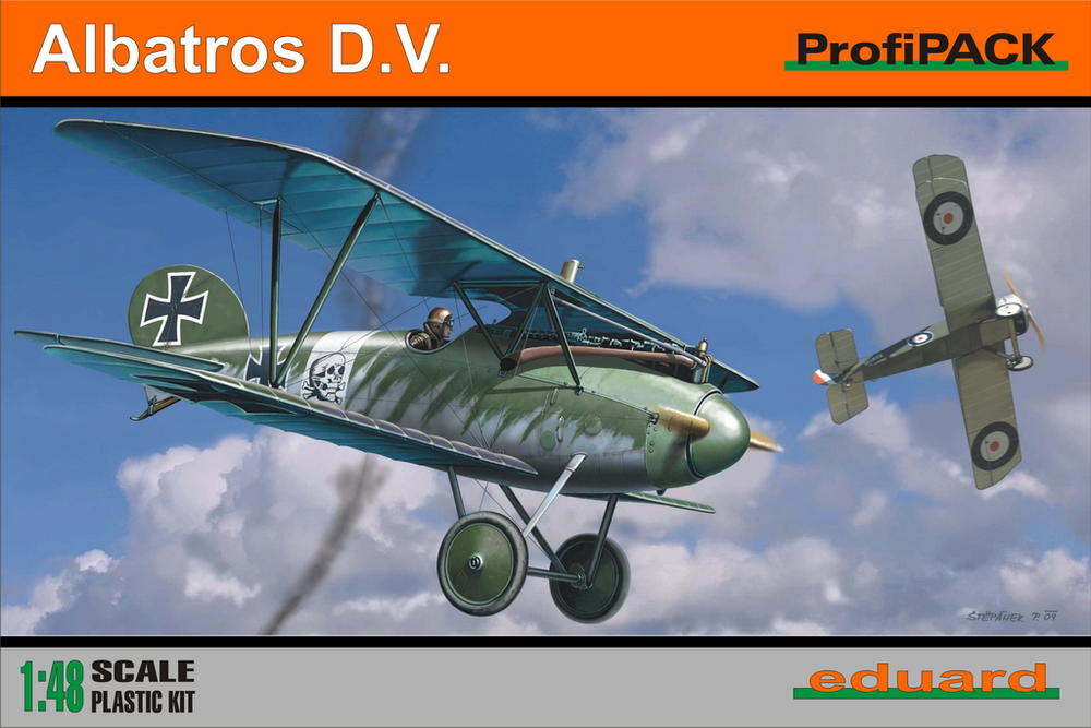Albatros DV, Eduard 1/48 Profipack