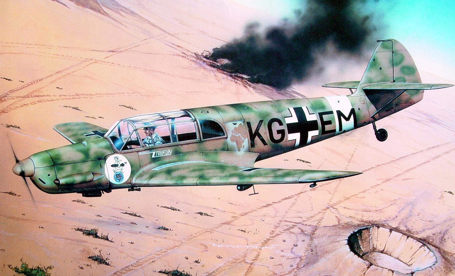 Messerschmitt Bf-108B Taifun, Eduard 1/48