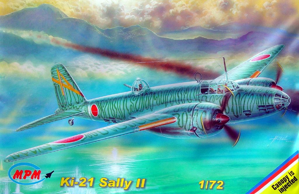 "Mitsubishi Ki-21 ""Sally"", MPM 1/72"
