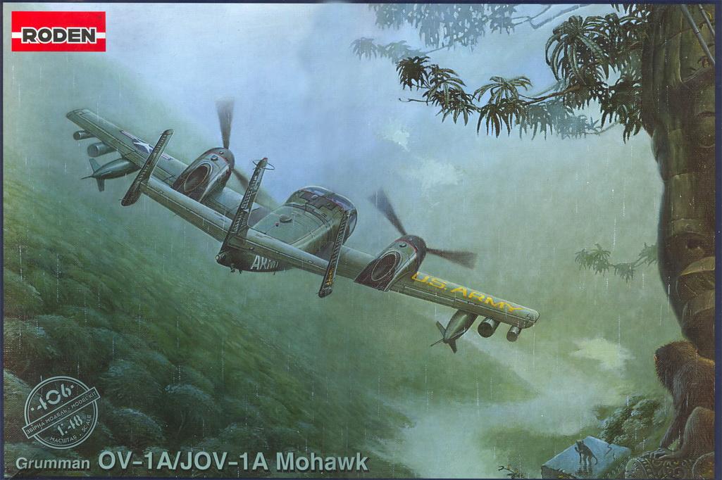 OV-1A MOHAWK, RODEN 1/48