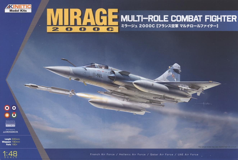 Mirage 2000 C Kinetic 1/48