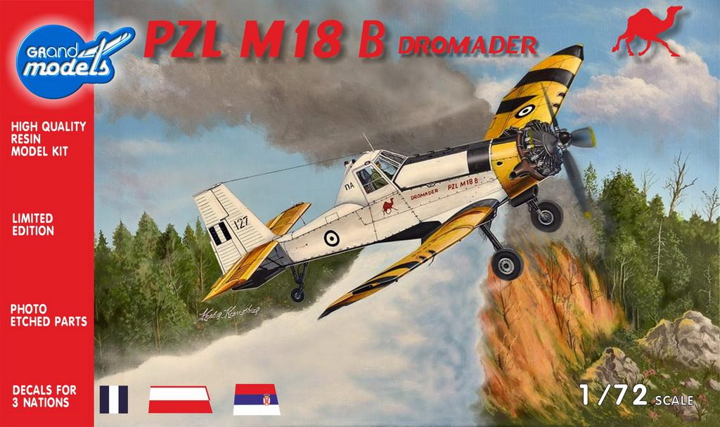 PZL M-18 DROMADER, Grand Models 1/72