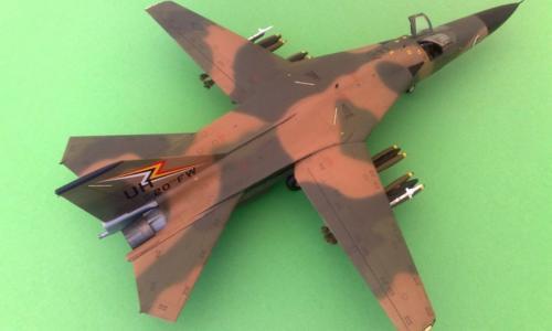 General Dynamics F-111E Aardvark, Italeri 1/48