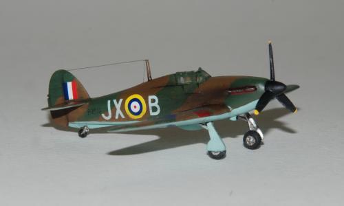 Hawker Hurricane MkI, Zvezda 1/144
