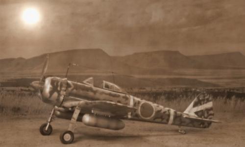 Nakajima Ki-43 Hayabusa (Oscar), ARII 1/48