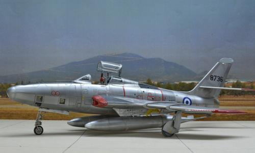 RF-84F Thunderflash, TANMODEL 1/48