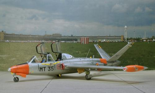 Fouga CM.170 Magister, AMK (ΑvantGarde Model Kits), 1/48