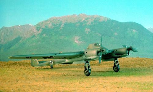 Focke Wulf Fw 189 V6, MPM 1/72