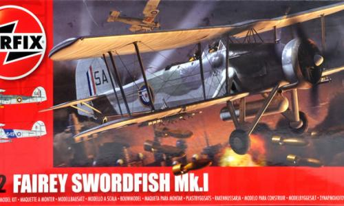 Fairey Swordfish Mk.I, Airfix 1/72 (kit No.04053)
