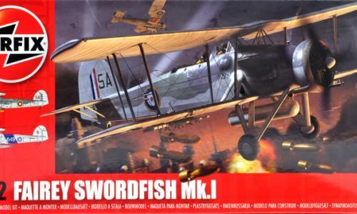 Fairey Swordfish Mk.I, Airfix 1/72 (kit No.04053)