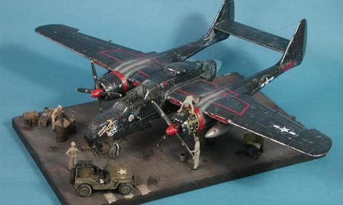 Northrop P-61 Black Widow, Great Wall Hobby, 1/48