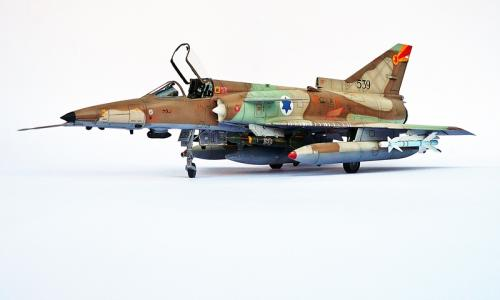 IAI Kfir C7, Kinetic 1/48 (kit K48046)