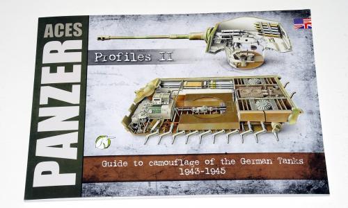 PANZER ACES Profiles II, German Tanks Camouflage 1943-1945 (Accion Press/Euromodelismo)