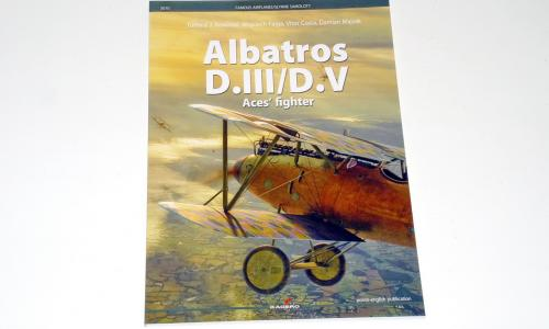 Albatros D.III/D.V Ace's Fighters, Famous Airplanes (Kagero 2018)