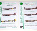 Μesserschmitt Bf109G-10 & Spitfire FR Mk.XIVe 1/48, EXITO Decals (ED48006 & ED48005)