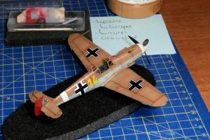 """Μesserschmitt Bf109F-2/4 """"Yellow 14 – Marseille"""", Italeri 1/72"""