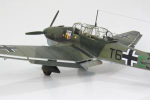 Junkers Ju87B-1 Stuka, Airfix 1/48 (kit no. A07114)