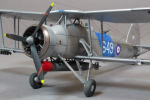 Fairey Swordfish Mk.I, Airfix 1/72 (kit No.04053A)