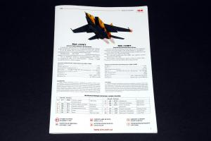 MiG-25RBT (Reconnaissance Bomber version), ICM 1/48 (No.48901)