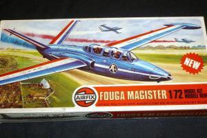 Fouga Magister, Airfix 1/72 (kit No. A03050)