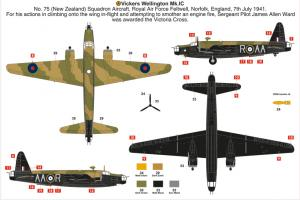Airfix new tool Vickers Wellington IC 1/72 (May 2018)