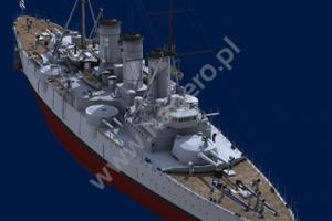 The Greek Armored Cruiser Georgios Averof 1911-1913, Superdrawings 3D by Tassos Katsikas (Kagero)