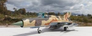 MiG-21G στην 1/48 από τον Δημήτρη Σιόλο