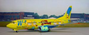 Boeing B-737 The Simpsons