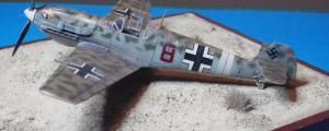 ΜESSERSCHMITT Bf109E-7/Tropical, ICM 1/72