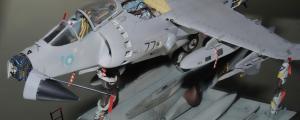 """""""LA MUERTE NEGRA"""", Sea Harrier FRS1, Αirfix 1/48"""