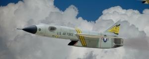 Republic XF-103, Mach 3 Fighter, 1/72 (Ιδιοκατασκευή)