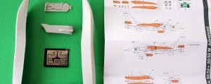 F-16 CFT & Tail set 1/48, GRAND MODELS