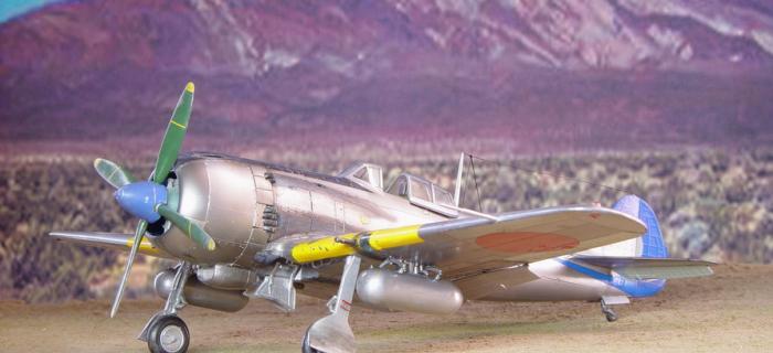Nakajima Ki-84 Hayate, Hasegawa 1/48