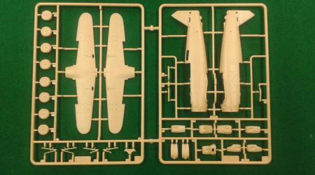 Gaspatch Models Henschel Hs123, 1/48 (first look - test shots)