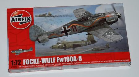 Focke Wulf Fw190A-8, Airfix 1/72
