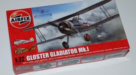 Airfix Gloster Gladiator Mk.I, 1/72
