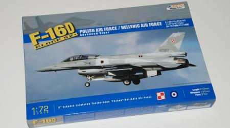 F-16D Block 52+ HELLENIC AIR FORCE, Kinetic 1/72