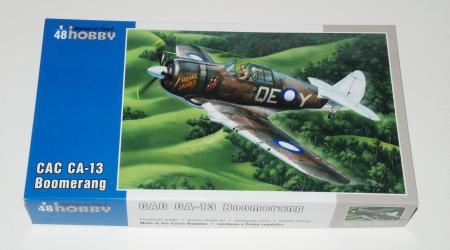 CAC CA-13 Boomerang, Special Hobby 1/48 (Limited Edition Kit no.SH48117)