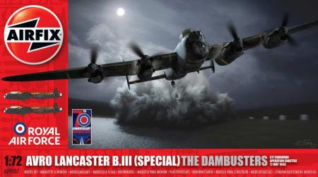 AIRFIX LANCASTER B.III (SPECIAL) DAMBUSTERS, 1/72