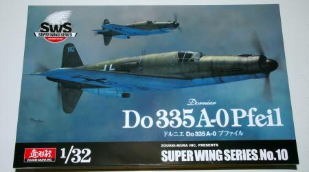 Dornier Do335A-0 Pfeil/Arrow, Zoukei-Mura 1/32 scale
