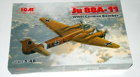 Junkers Ju88A-11 (Ju88A-4/Trop), ICM 1/48 (kit No.48235)