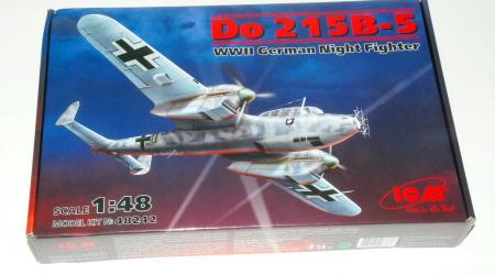 Dornier Do215B-5 Night Fighter, ICM 1/48 (kit No.48242)