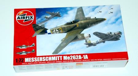 Messerschmitt Me262A-1a, Airfix  1/72  (new tool A03088)