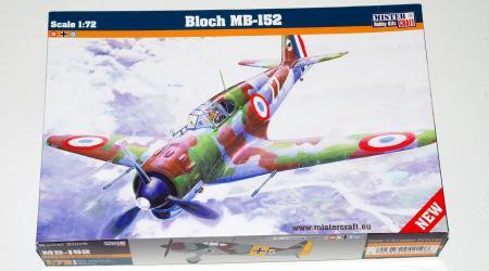 Bloch MB152, Mister Craft 1/72 (με ελληνικά σήματα)